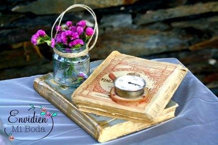 Boda Rústica en Guadalajara por EnvidienMiBoda Decoración y creación de bodas bonitas