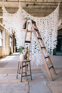 fondo de papel para bodas low cost