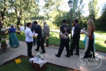 Espacios exteriores boda se