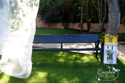 Espacios exteriores bonitos boda SE
