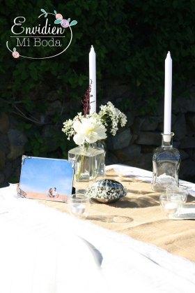 Decoración ceremonia Marta & Alberto por EnvidienMiBoda
