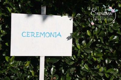 Decoracion Boda Original y romántica de la boda de Marta & Alberto por EnvidienMiBoda