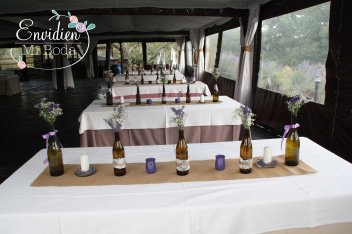 cómo decorar tu boda rústica