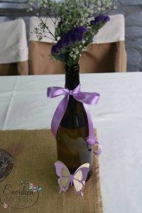mesas rústicas boda de Alba & héctor por envidienmiboda