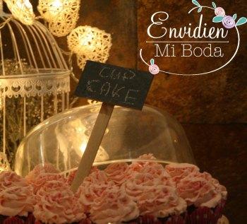 Candy Bar Romántica de Sandra & Edu por EnvidienMiBoda