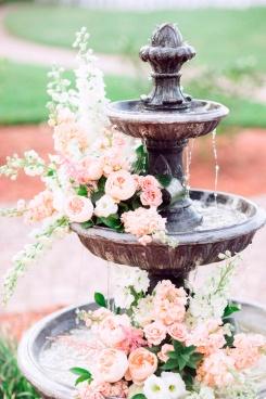 Decoración-zonas-de-agua-en-bodas-Cómo decorar fuentes