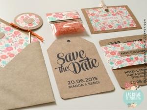 Invitaciones para bodas rústicas