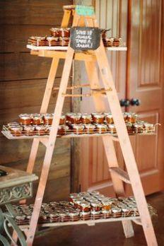 tarros de mermelada como regalos de boda