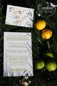 invitacion de boda original