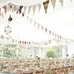 Cómo decorar carpas de boda