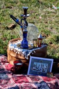 Preboda con decoración arabe para Nuria & Edu por EnvidienMiBoda