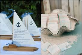 Invitaciones de estilo marinero o navy