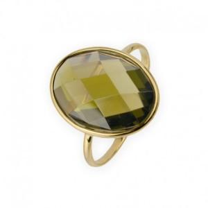 sortija-con-piedra-circonita-olivina-en-oro-18k joyerias aresso