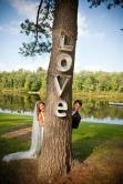 decoración de boda con letras 2