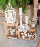 decoración de boda con letras 5