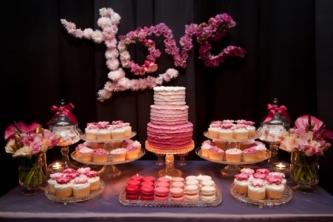 decoración de boda con letras 6