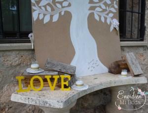 montaje de la decoración de laboda de Lorena & Diego en Guadalajara