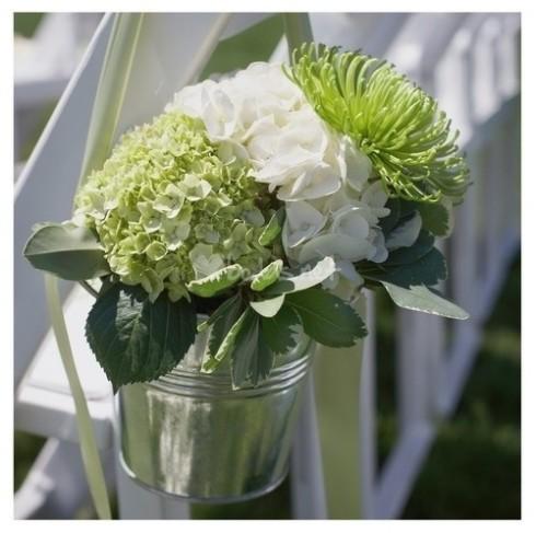 decoración de boda con macetas 4