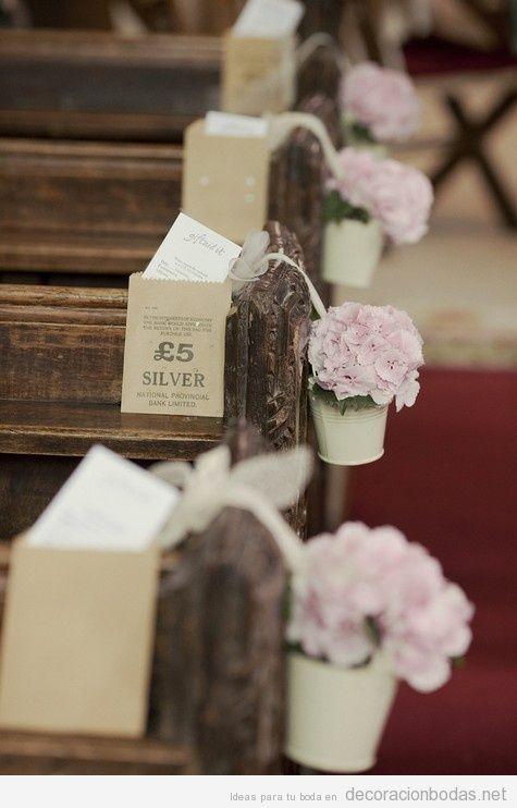 decoración de boda con macetas 9