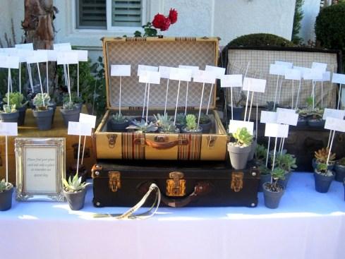 decoración de boda con macetas10