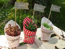 decoración de boda con macetas6