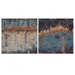 lienzos-abstractos-cuadrados-en-tonos-azules-grises-y-marrones