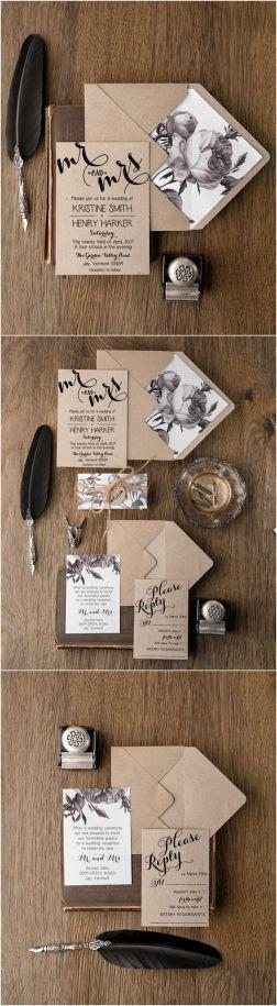 invitaciones de boda para 2018 5