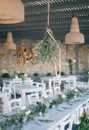 decoración con olivo en tu boda