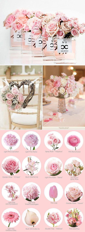 bodas en rosa