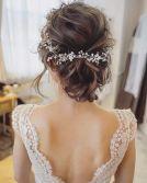peinados para novias de 2018 2