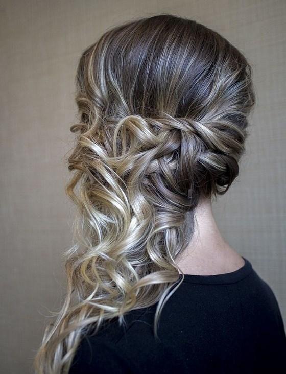 10 peinados con semi recogidos para invitadas ENVIDIEN MI BODA