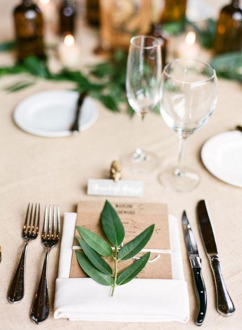 Detalles en mesas de banquete 1