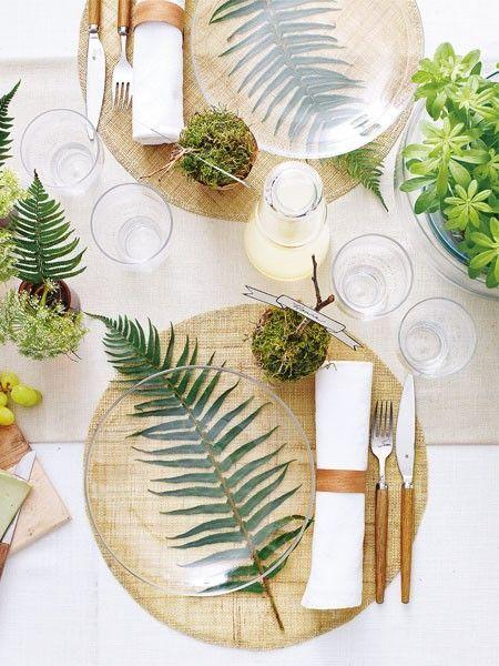 Detalles en mesas de banquete 10