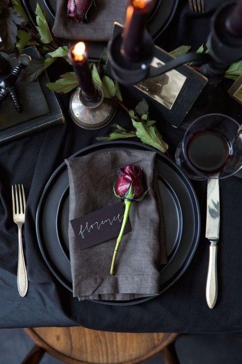 Detalles en mesas de banquete 3