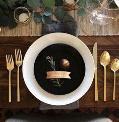 Detalles en mesas de banquete 5