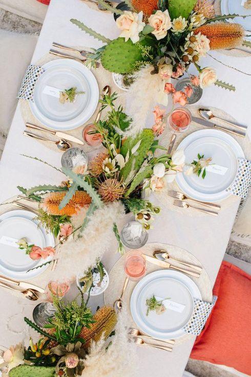 Detalles en mesas de banquete 9