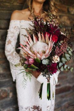 ramos de novia de proteas 1