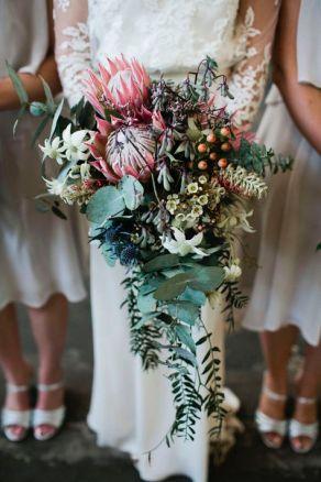ramos de novia de proteas 2.