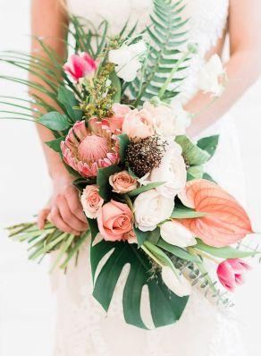 ramos de novia de proteas 3