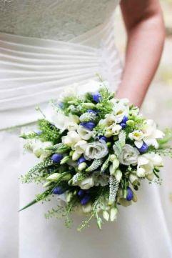 Ramos de novia en azul (1)