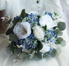 Ramos de novia en azul (2)